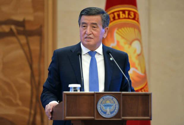 Глава Киргизии увидел в стране попытку госпереворота