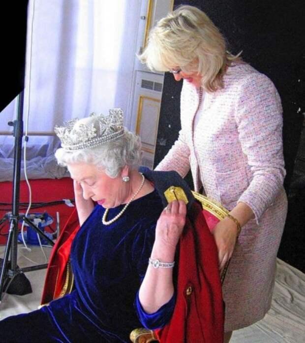 Анджела Келли на службе Её Величества. / Фото: www.botasot.info