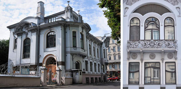 Дом Миндовского на Поварской