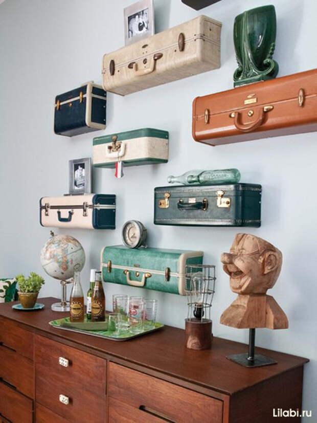 Необычное украшение стен в квартире