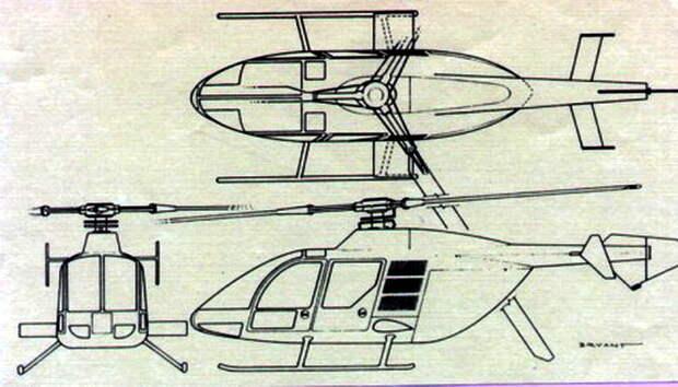 Проект вертолёта VolJet Model-525 - Нетрадиционная любовь Бруно Наглера | Warspot.ru