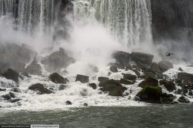 Niagaraoutside06 Ниагарский водопад. Вид изнутри