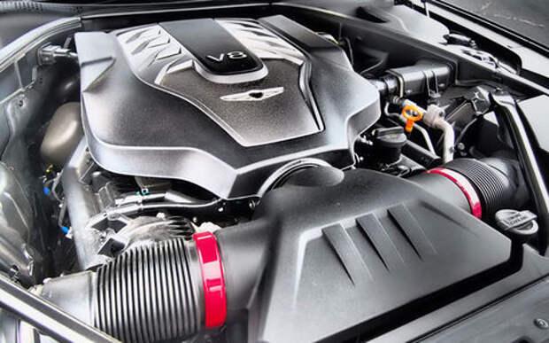 Genesis избавляется от мотора V8