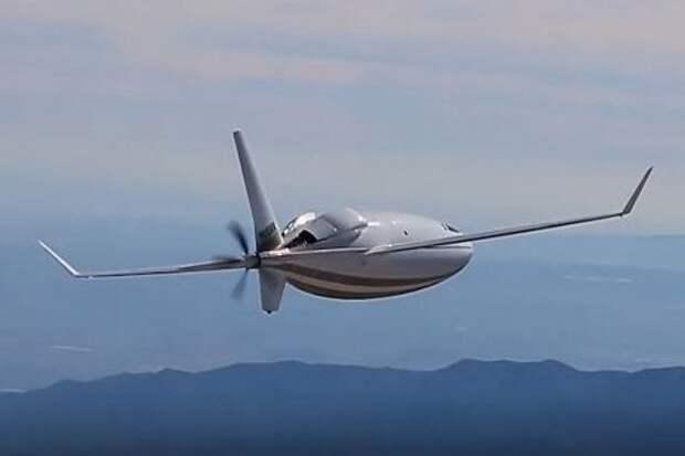 Спасение при пандемии: В США презентовали интересный самолет-пулю (ФОТО)