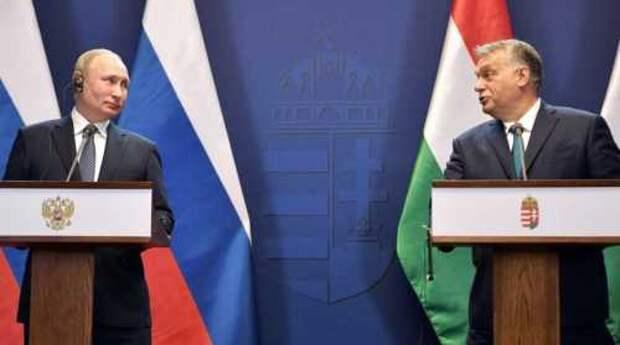 Путин в Венгрии и страхи Украины