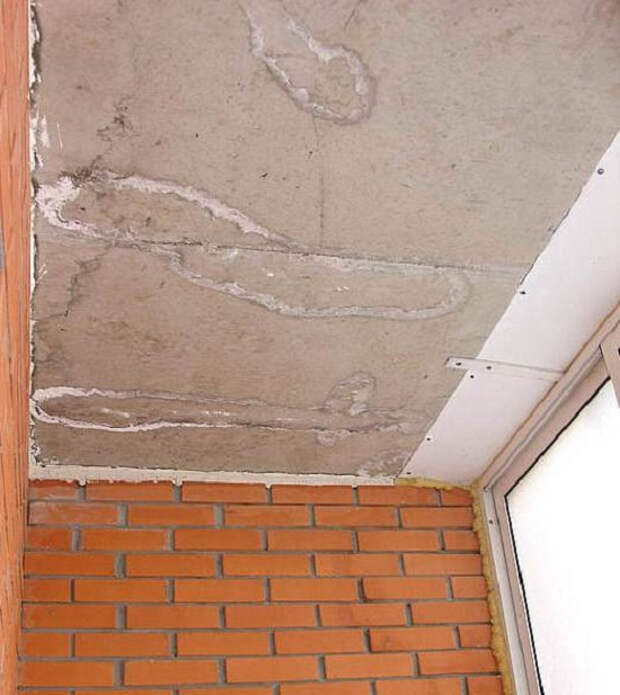 Гидроизоляция потолка на балконе и лоджии: полезные советы
