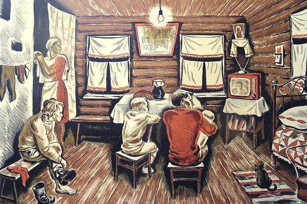 Как русские изобрели телевидение