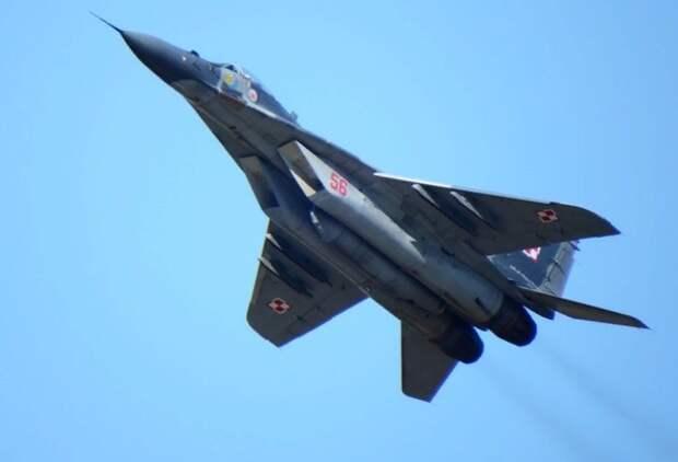 В ОАК подтвердили крушение МиГ-29 в Египте