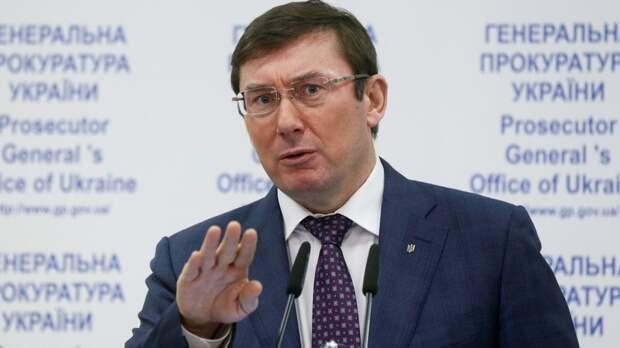 Луценко написал заявление об увольнении с поста генпрокурора