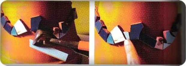 Цветочный горшок, украшенный мозаикой из битой плитки