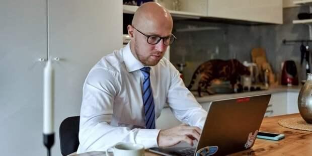 Заявление на онлайн-голосование 17-19 сентября уже подали 300 тыс москвичей. Фото: Ю. Иванко mos.ru