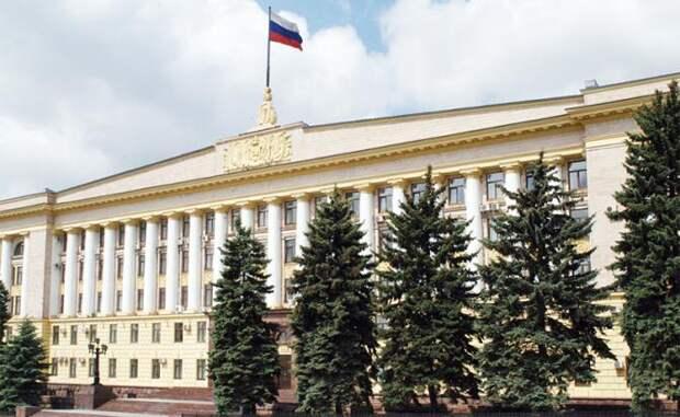 На фото: здание администрации Липецкой области
