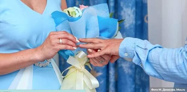 В ЗАГС рассказали, как часто женятся москвичи в новогодние праздники. Фото: М.Денисов, mos.ru