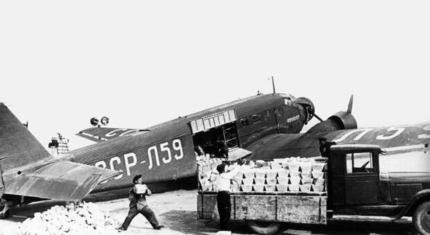 Junkers Ju-52 L-59 in the USSR