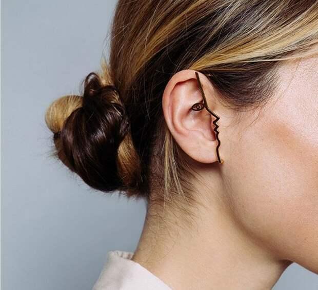Серьги на уши