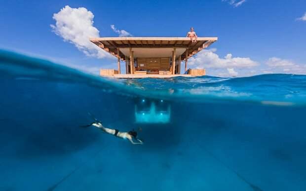 Уникальный отель в Индийском океане (Занзибар).
