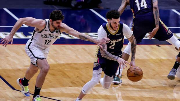 «Бруклин» победил «Нью-Орлеан» благодаря 32 очкам Ирвинга