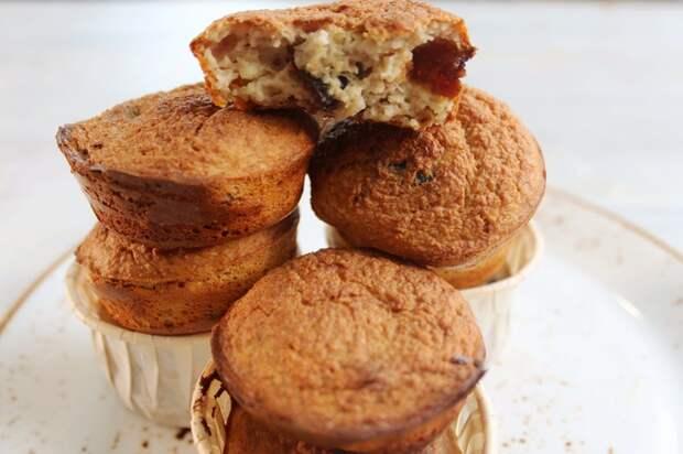 6 простых завтраков (или десертов) из овсянки. Видео рецепт, Овсянка, Завтрак, Десерт, Еда, Рецепт, Длиннопост, Овсяное печенье, Видео