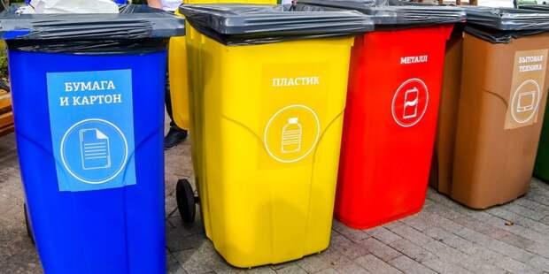 Сбор мусора. Фото: mos.ru