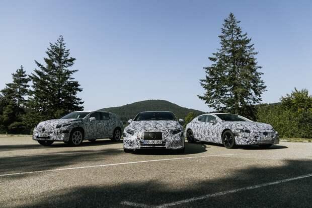 Планы Mercedes-Benz: шесть новых электрокаров, вытеснение ДВС и снижение зарплат