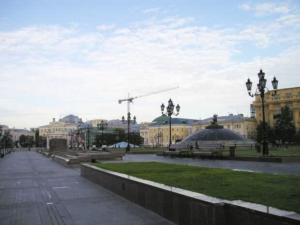 Прогулка по Александровскому саду.