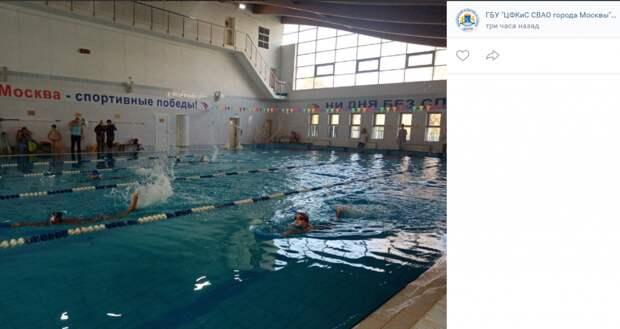 Две семьи из Ярославского заняли призовые места на соревнованиях по плаванию