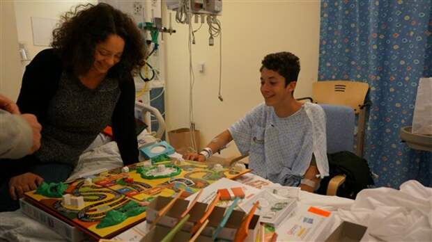 Мама-врач оказалась в нужный момент в нужном месте и спасла жизнь своему сыну