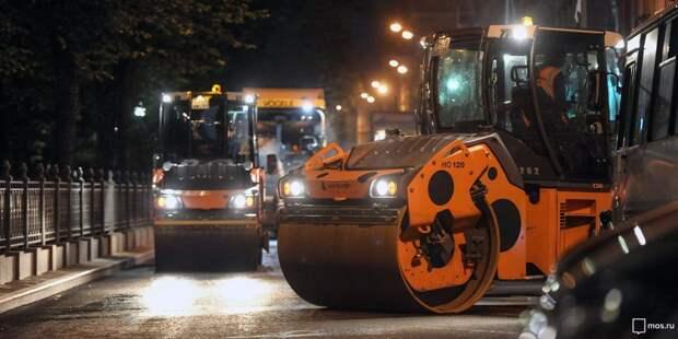 По ночам асфальт на Изумрудной больше не ремонтируют – управа