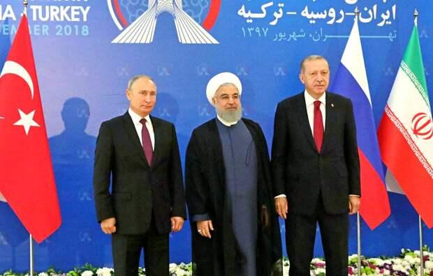 Союз России, Турции и Ирана возьмет под контроль важнейшие торговые пути