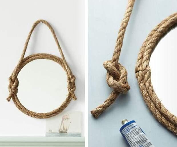 15 интересных идей для украшения дома из простой верёвки