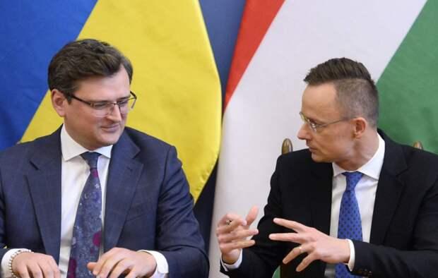 Глава МИД Венгрии в Киеве «затроллил» Украину российской вакциной