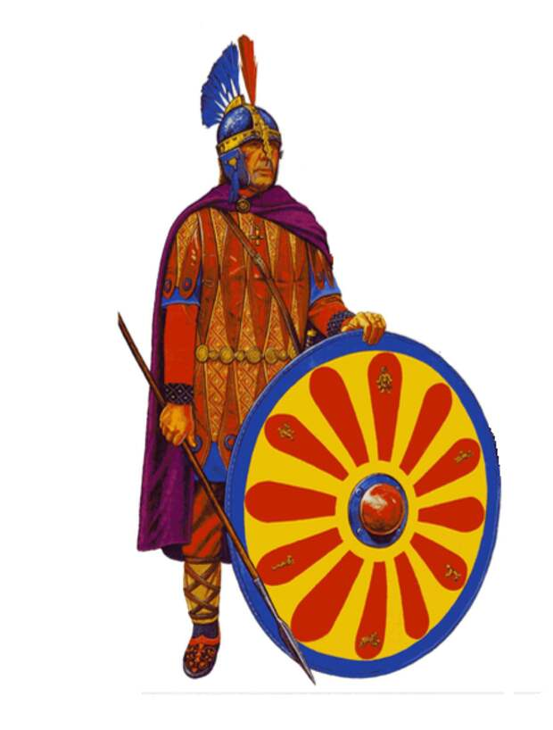 Тяжеловооружённая пехота Византии VI века