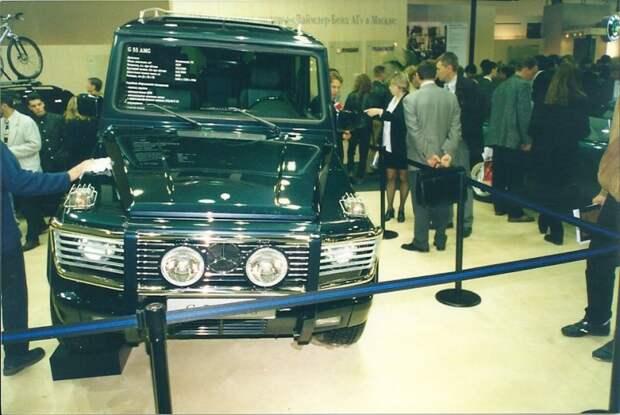 G55 AMG, как же без него в 90-е?! автовыставка, автосалон, выставка, ретро фото