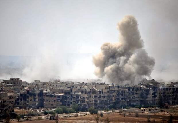 На юге Сирии израильский самолет обстрелял военные позиции