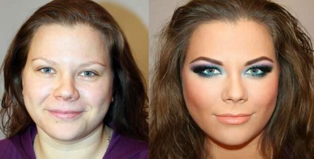Чудеса make-up: до и после
