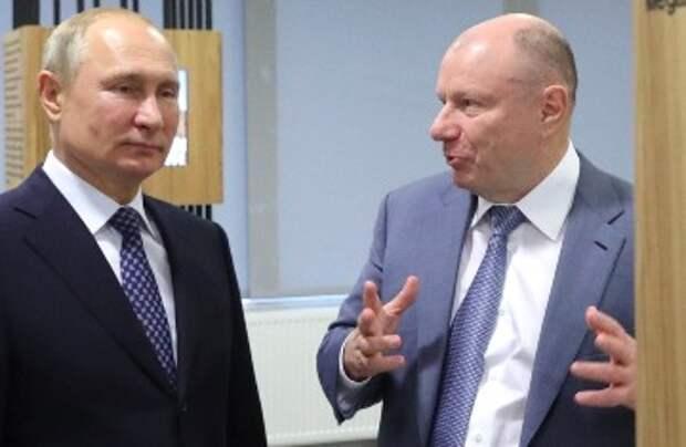 Путин всего лишь пожурил олигарха Потанина за его жадность, ставшей причиной экологической катастрофы