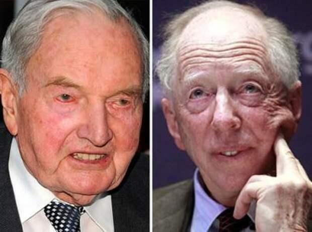 Ротшильды и Рокфеллеры вывели свои капиталы из США