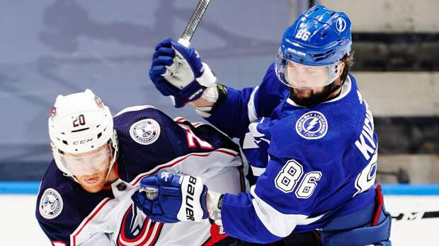 Эффектный гол Кучерова не спас «Тампу». Один из самых русских клубов НХЛ снова проиграл «Коламбусу»