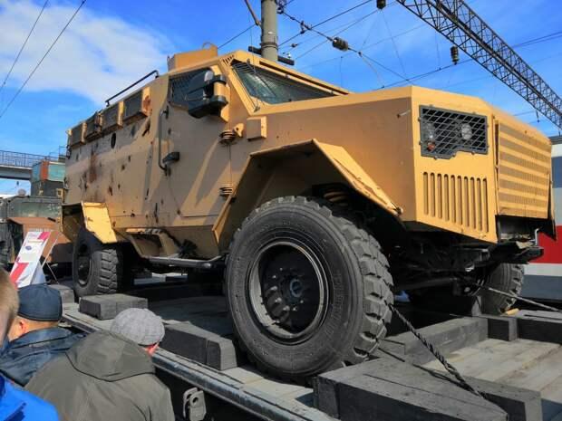 Джихад-мобиль и минный трал: «Сирийский перелом» побывал в Ижевске