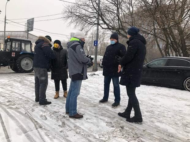 Ситуацию в доме на улице Советской Армии взяли под контроль в управе
