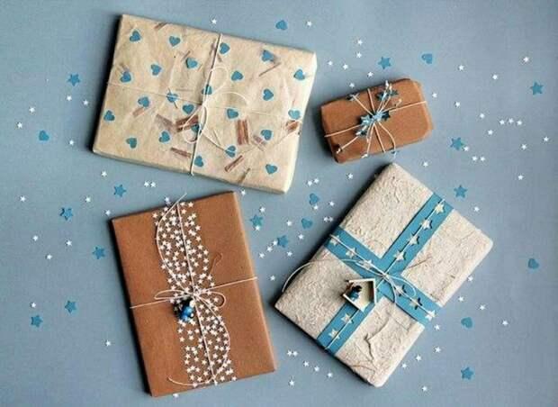 Необычные упаковки подарков +5diy