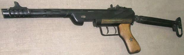 Еще меньше был пистолет-пулемет Сергеева.