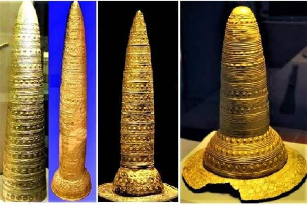 Бронзовый век: загадочные конусы из золота возрастом около 4000 лет