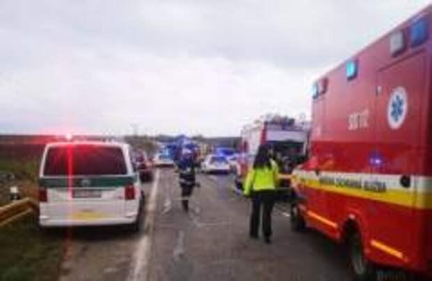 12 человек погибли в ДТП в Словакии