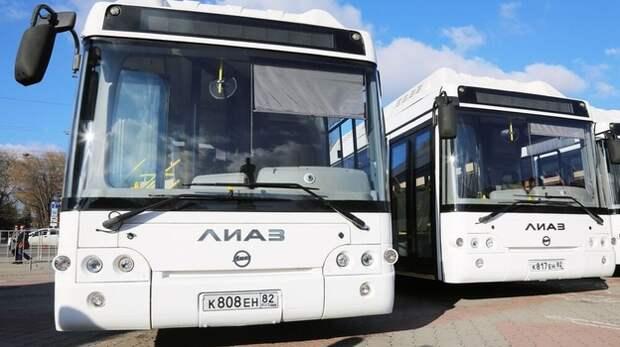 В Крыму сократят количество транспорта на нерабочей неделе