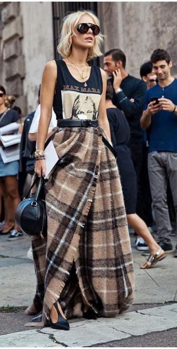 Необычные и креативные юбки