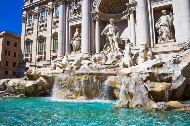 фонтан Треви