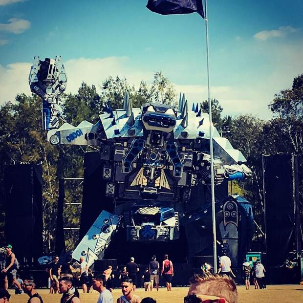 Музыкальный фестиваль Defqon.1 в Австралии