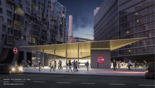 В Лондоне впервые с начала века открылись новые станции метро