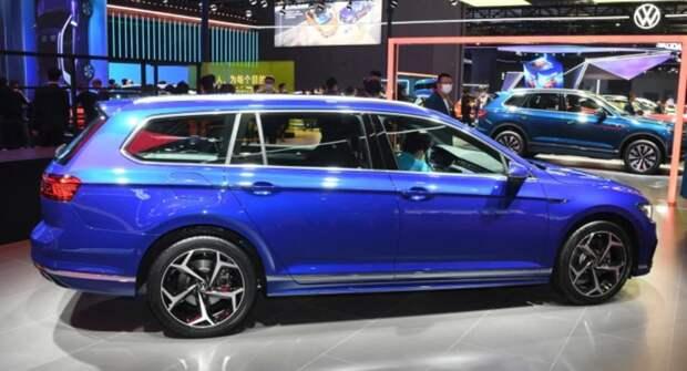 Volkswagen совместно с FAW представил обновленный Passat для бездорожья